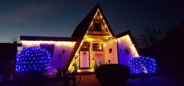Sansmann Huus zur Weihnachtszeit
