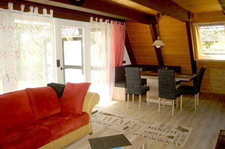Wohnzimmer-Essecke