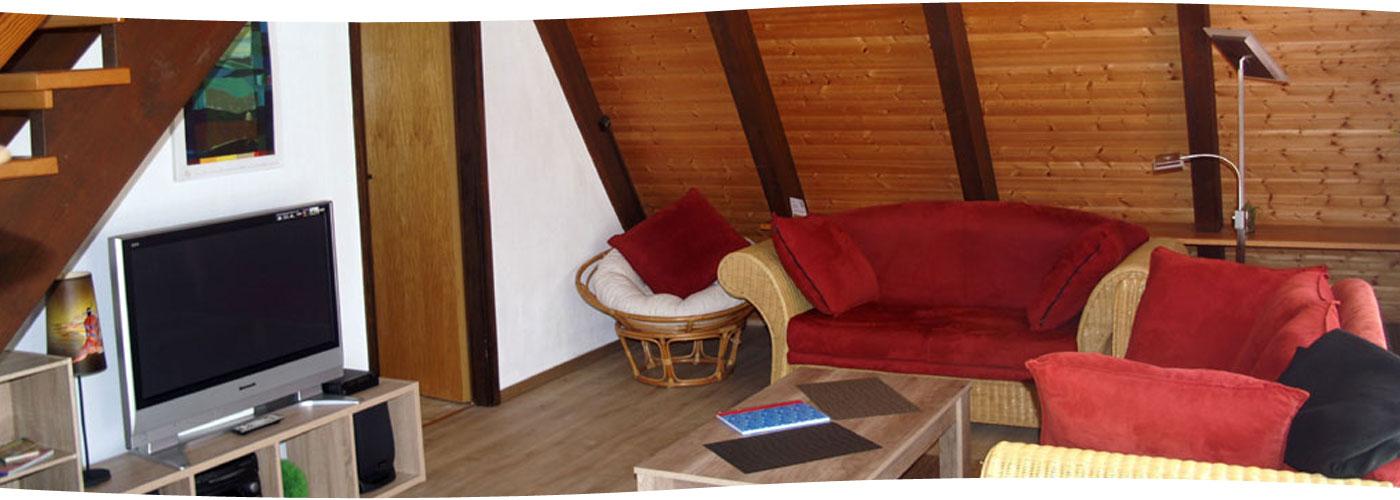 """Wohnzimmer im """"Winnetou XL"""""""